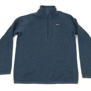 Patagonia Mens Better Sweater 1/4 Zip Pullover